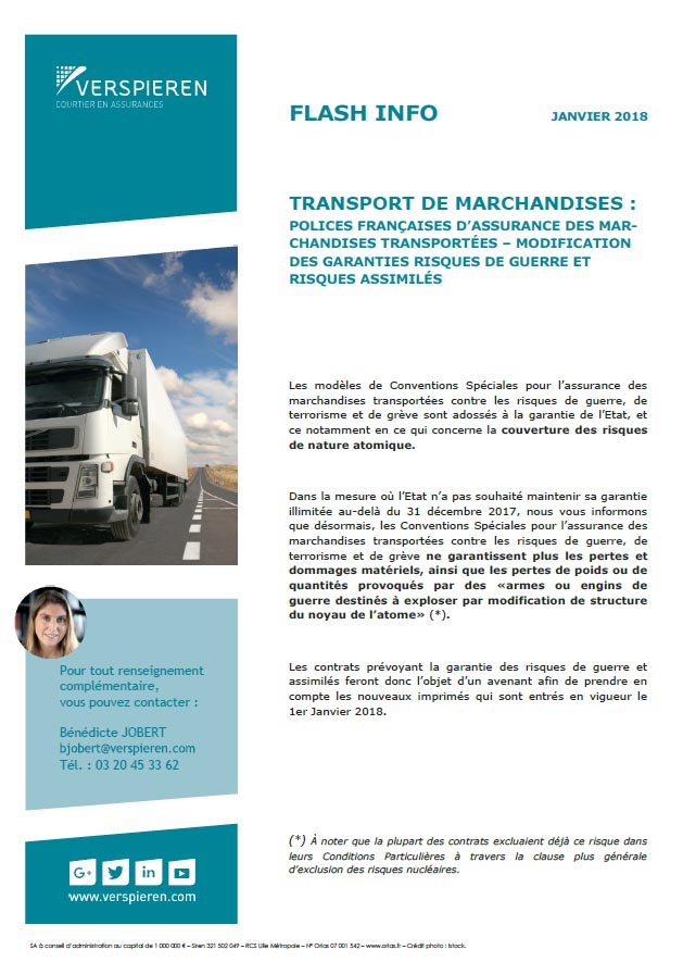 Flash info transport